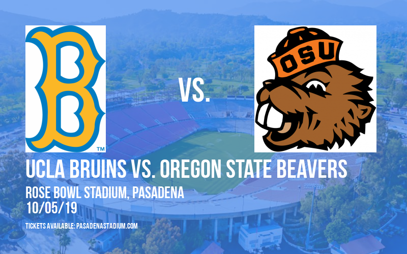UCLA Bruins vs. Oregon State Beavers at Rose Bowl Stadium
