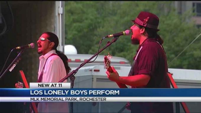 Los Lonely Boys at Rose Bowl Stadium