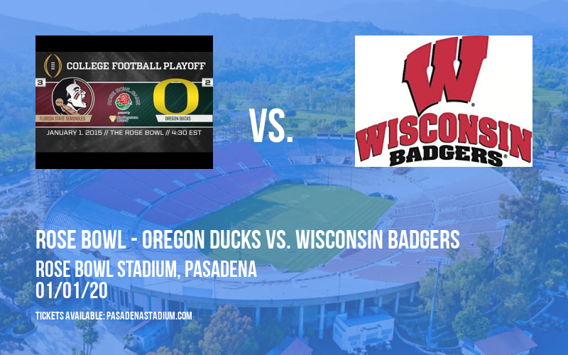 PARKING: Rose Bowl - Oregon Ducks vs. Wisconsin Badgers at Rose Bowl Stadium