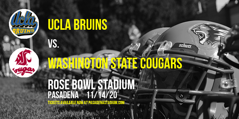 UCLA Bruins vs. Washington State Cougars at Rose Bowl Stadium