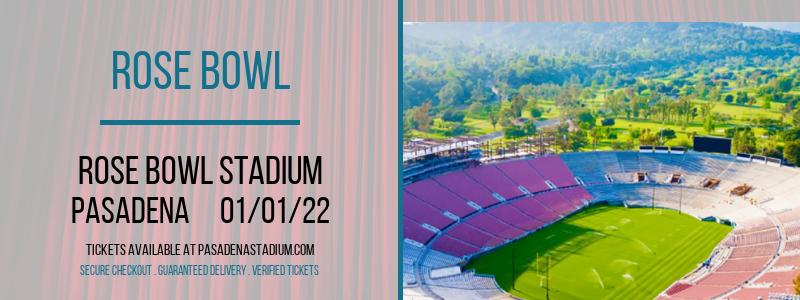 Rose Bowl at Rose Bowl Stadium