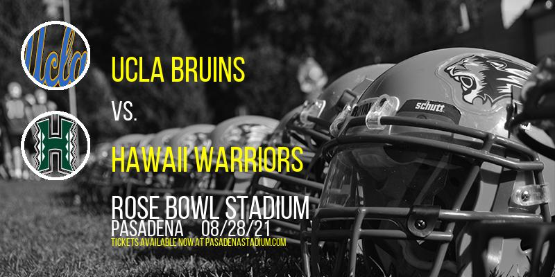 UCLA Bruins vs. Hawaii Warriors at Rose Bowl Stadium