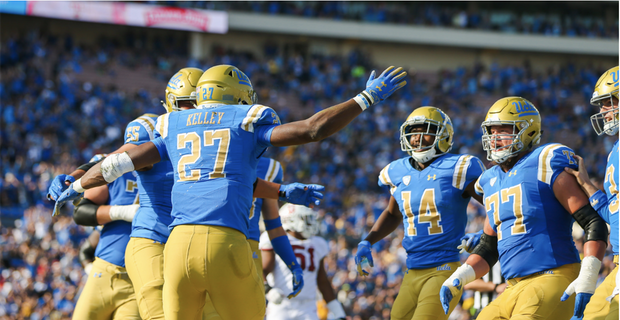 PARKING: UCLA Bruins vs. Colorado Buffaloes at Rose Bowl Stadium