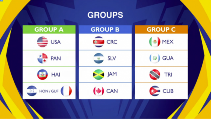 CONCACAF Gold Cup: Group A at Rose Bowl Stadium