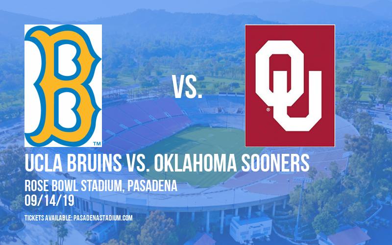 PARKING: UCLA Bruins vs. Oklahoma Sooners at Rose Bowl Stadium