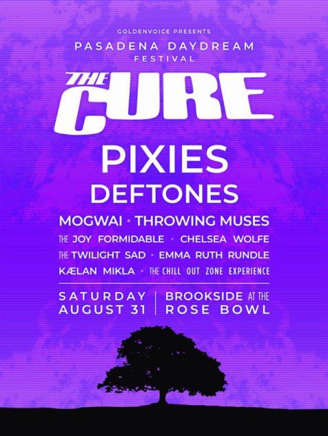 Pasadena DayDream Festival: The Cure, Pixies & Deftones at Rose Bowl Stadium