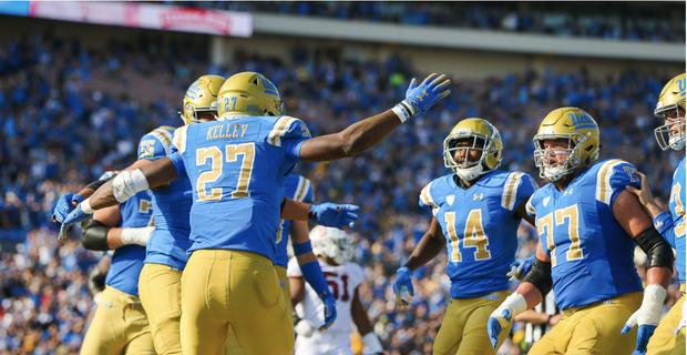 UCLA Bruins vs. California Golden Bears at Rose Bowl Stadium