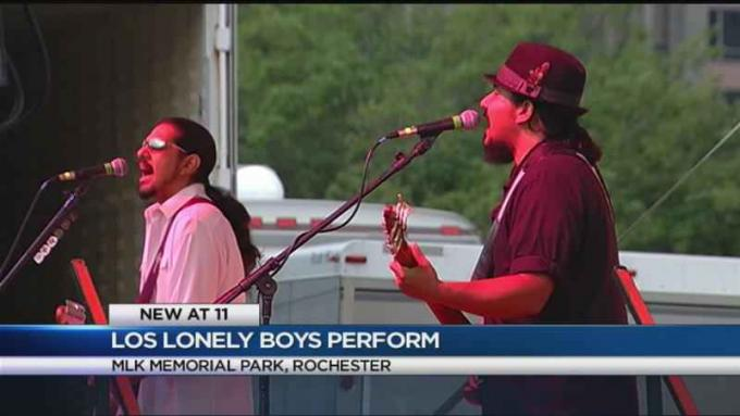 Los Lonely Boys at Rose Bowl Stadium
