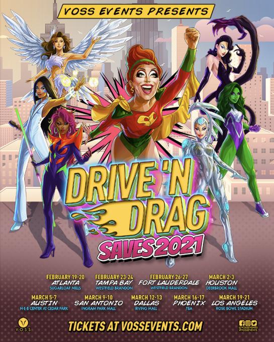 Drive 'N Drag Saves 2021: Bianca Del Rio at Rose Bowl Stadium